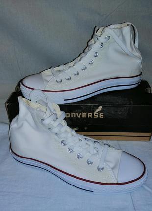 Кеды Converse All Star. Белые, 41 размер.