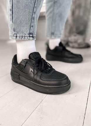 Кроссовки Nike Air Force Shadow Black