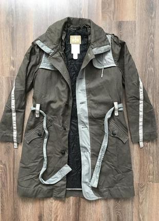 Плащ пальто милитари куртка