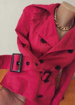 Пальто плащ тренч розовый new look распродажа 🔥🔥🔥