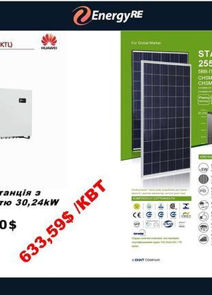 Сонячна електростанція під ключ, зелений тариф