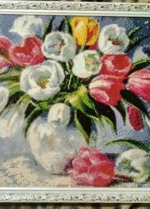 Картины алмазной вышивкой, алмазная мозаика, картина стразами