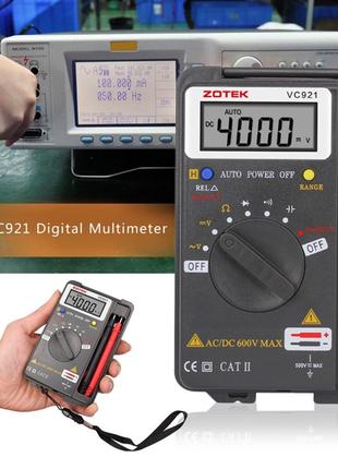 Портативный цифровой мультиметр ZOTEK VC921