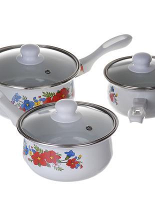 Ковши кухонные A-PLUS набор 3 шт