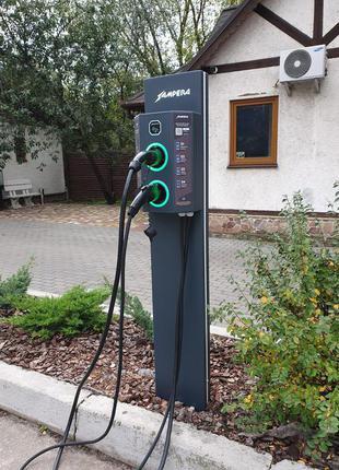 Установка и продажа зарядных станций для электромобилей
