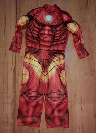 Карнавальный костюм детский железный человек