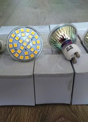 Світлодіодні лампочки 5W 480LM GU10 29 SMD 5050