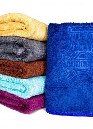 Набор полотенец микрофибра размер 35х75 (4 штуки)