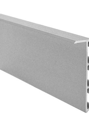 Алюминиевый плинтус скрытого монтажа 15х55х3000мм