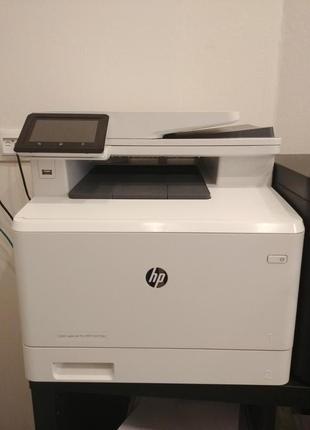 Цветной принтер HP COLOR LaserJet Pro MFP M477fdn <CF378A>