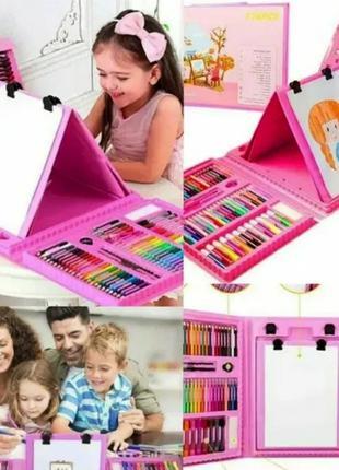 Набор для детского творчества в чемодане на 208 предметов