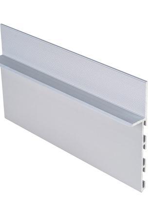 Алюминиевый плинтус скрытого монтажа 15х80х3000мм