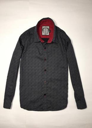 Стильная нарядная рубашка мальчику, 5-6 лет