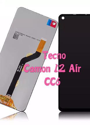 Оригинальный дисплей (модуль) для Tecno Camon 12 air CC6