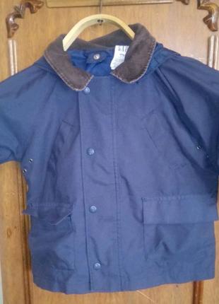 Детская ветровка (куртка) Gap. Размер 18-24 месяца.