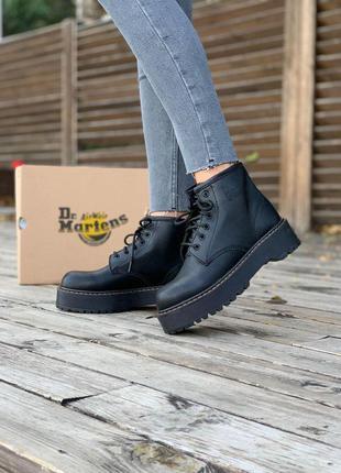Dr. martens jadon black 👢 ботинки доктор мартинс  👢 мартинсы