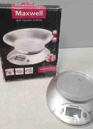 Электронные кухонные весы Maxwell MW-1451