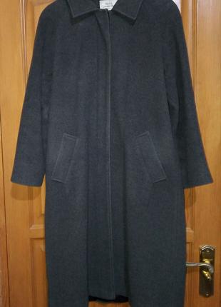 Пальто женское миди прямое деми р.48-50, (L),14
