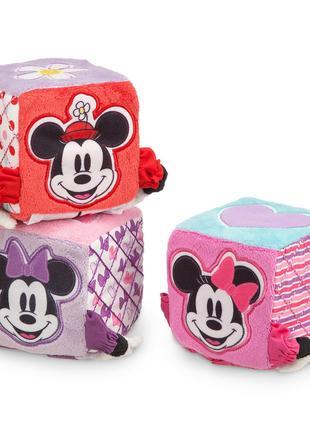 Набор развивающих мягких кубиков Disney Минни Маус от Дисней
