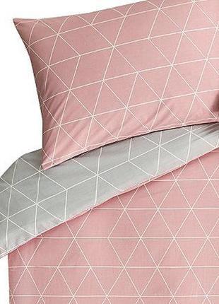 Стильный двухспальный комплект белья от george home  геометрия...