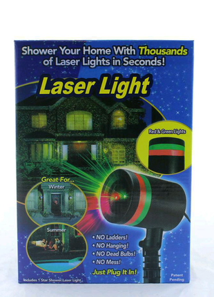 Уличный диско лазер Star Shower Light 908 / лазерный проэктор