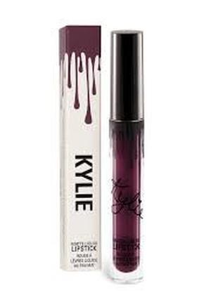 Kylie jenner матовая помада usa (lipstick) kourt k