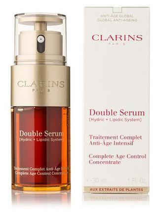 Концентрат clarins double serum для лица 50 ml