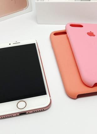 IPhone 7 32GB, Rose Gold, Neverlock, Полный Комплект