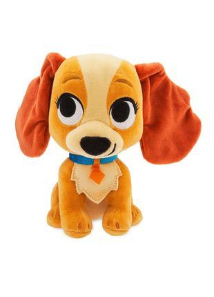 Плюшевая игрушка Disney собачка Леди (м/ф Леди и Бродяга), Дисней
