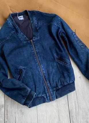 Джинсова куртка,бомбер джинсовая куртка asos