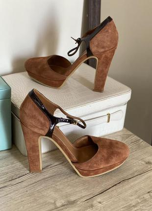 Кожаные туфли  see by chloe оригинал