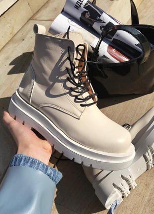 Прекрасные женские осенние ботинки/сапоги без бренда 🍂