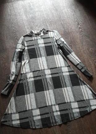 Платье в широкую клетку atmosphere р.6