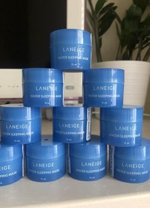 Laneige увлажняющая ночная маска для лица laneige water