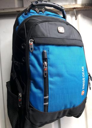 Рюкзак міський швейцарский Swissgear (6910) синій 50×30×20см