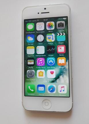 Смартфон Apple iPhone 5 16 Gb без звонков