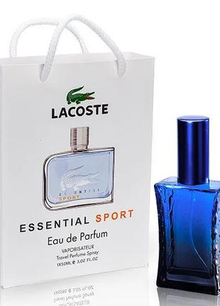 Лакоста. Lacoste essential sport. Духи