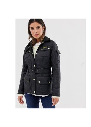 Стеганка стеганная куртка с ремнем на синтепоне оригинал