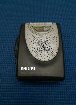 Плеер касетный Philips
