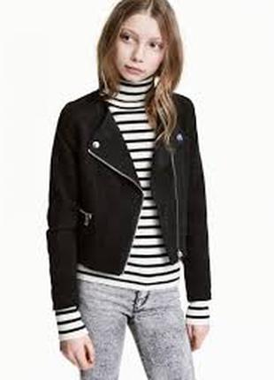 Куртка ветровка косуха девочке 13 - 14 лет h&m