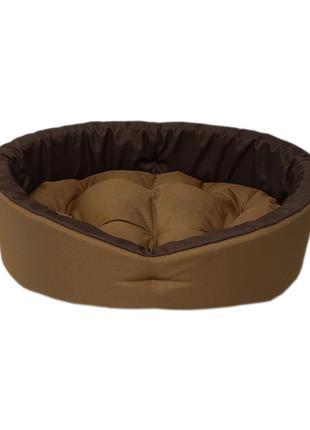 Лежак для собак и кошек. Койот коричневый