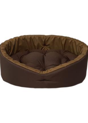 Лежак для кошек и собак. Коричневый койот