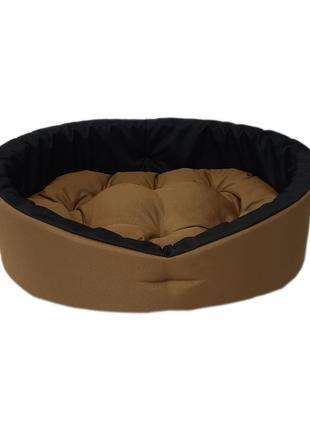 Лежанка для собак и кошек. Койот черный