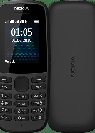 Мобільний телефон Nokia 105 Dual NEW 2019 black