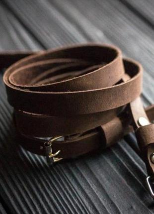Комплект браслетов, мужской браслет кожаный