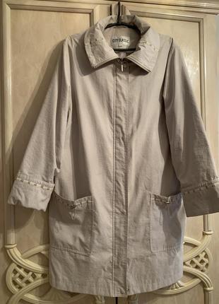 Плащевая куртка плащ ветровка