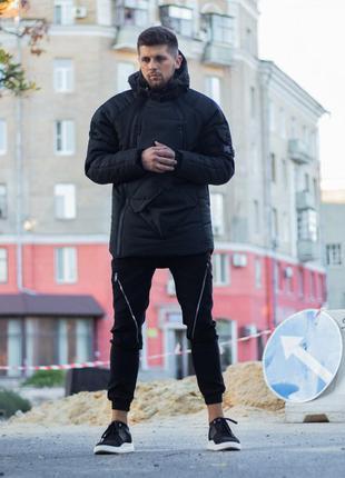 Зимняя куртка lc - smart черная