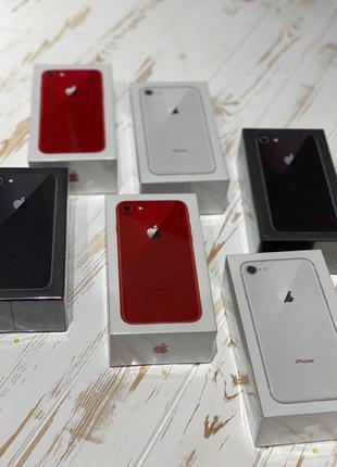New  iPhone 8 64 gb Neverlock+Безкоштовна доставка НП