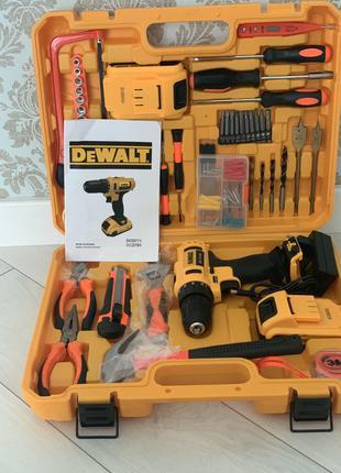 Аккумуляторный шуруповерт DEWALT DCD791 девольт Тел0635713772