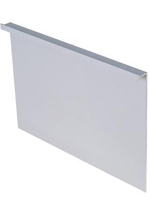 Алюминиевый скрытый плинтус 103мм